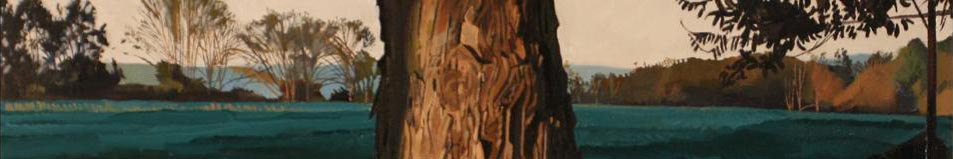 Detail from tree painting by Trey Friedman
